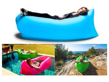 LayBag, il coloratissimo ed innovativo divano gonfiabile personalizzato