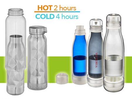 Nuove bottiglie termiche con rivestimento personalizzate