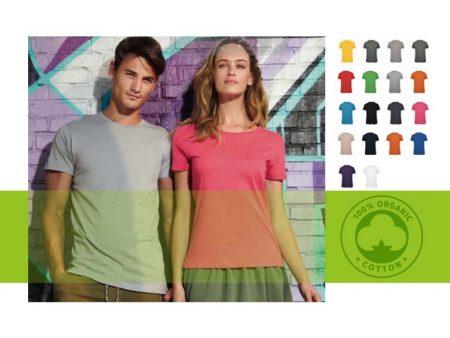 Nuove t-shirt in 100% cotone organico