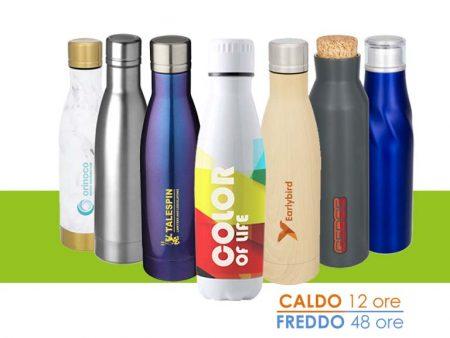 Bottiglie termiche: gadget utile e green