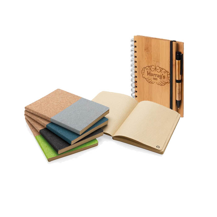 Notebooks Green