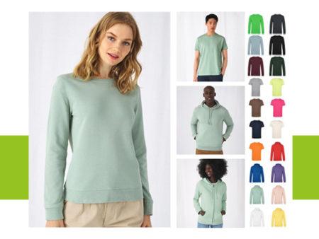 Abbigliamento coordinato in cotone organico