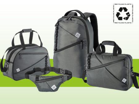 Nuova collezione di borse urban green in RPET