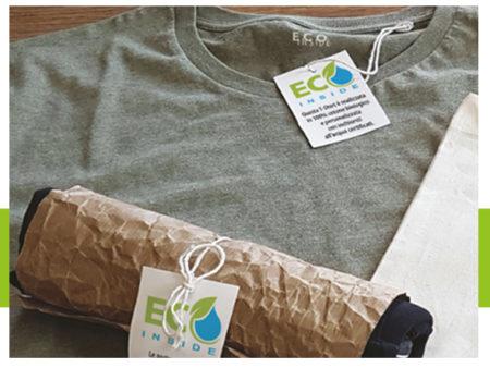 La nostra scelta: tessuti e personalizzazioni green